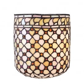 Mille Feux Wall Light With Cream Glass 64280