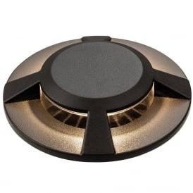 Modern Driveover / Walkover Light In Graphite Finish IP67 3418