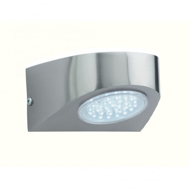 Firstlight Modern Outdoor LED Wall Light In Stainless Steel Finish IP44 4215