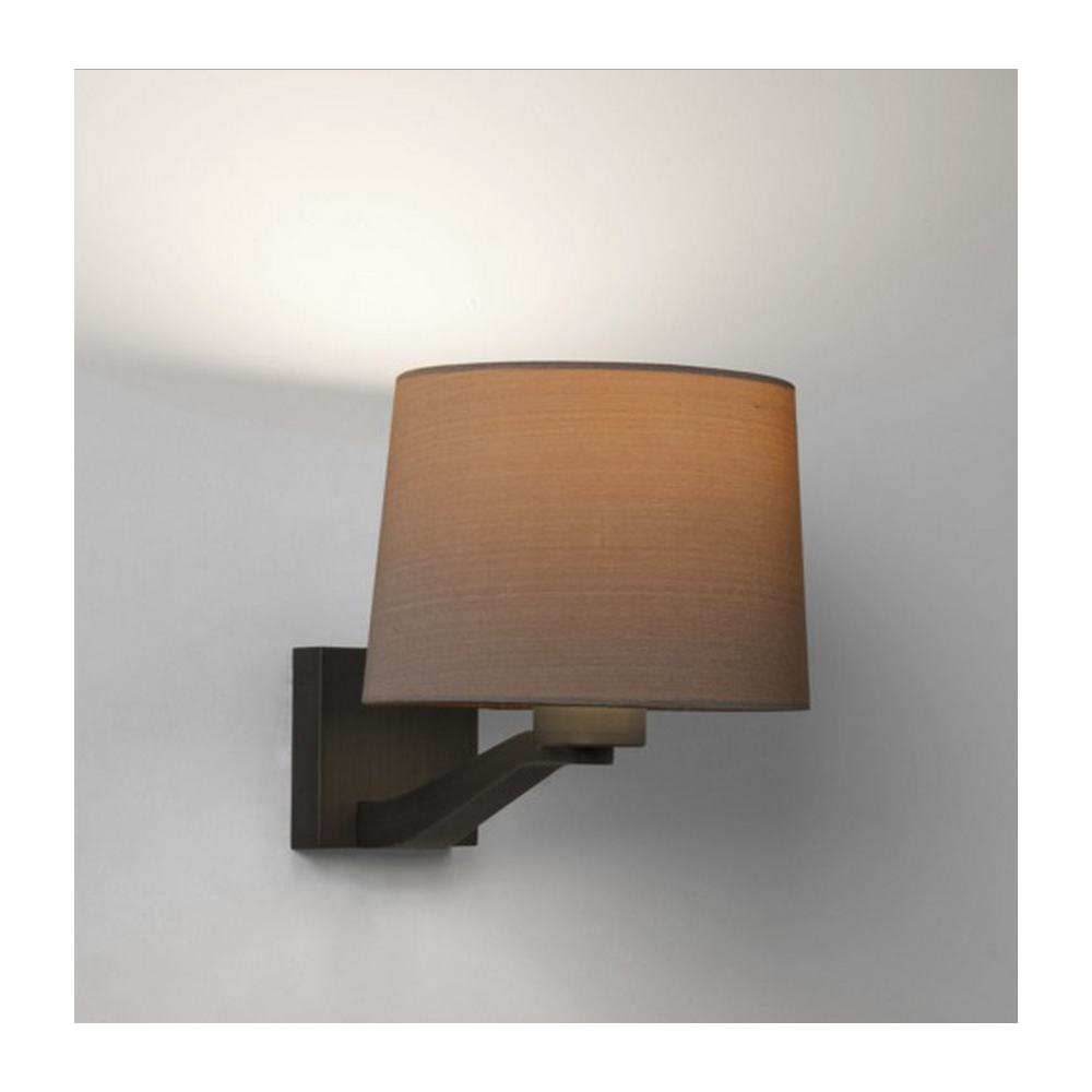 Wall Mounted Oyster Lights : Astro Lighting Montclair Wall Light in Bronze Finish with Oyster Shade 7476 + 4064 - Lighting ...