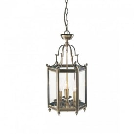 MOO0375 Moorgate Antique Brass Lantern