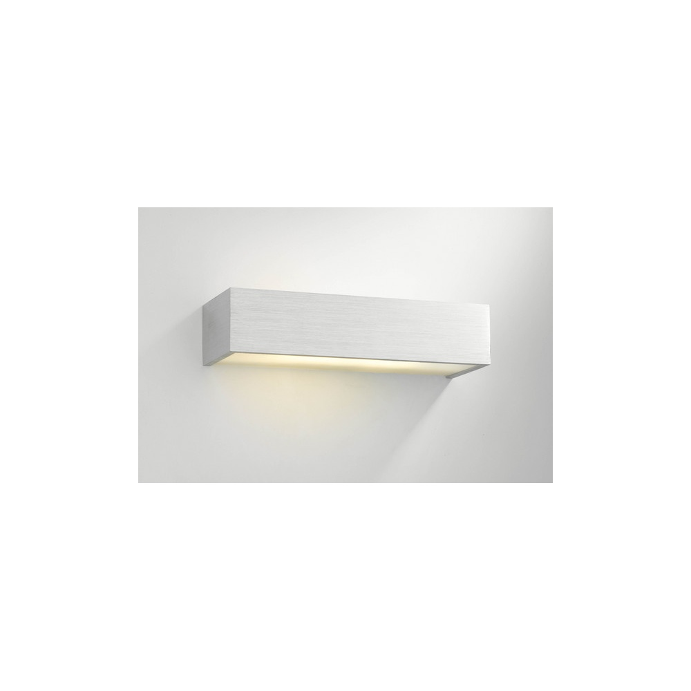Wall Lights Low Energy : MYE0746/18CF Myers 1 Light Aluminium Low Energy Wall Bracket - Lighting from The Home Lighting ...