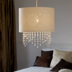 NE-96063 Non Electric Laser Cut Paper Pendant Ceiling Light