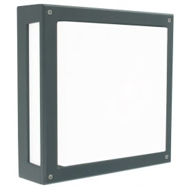 Nordland Outdoor Wall / Ceiling Light In Graphite Finish NORDLAND 13W GRA