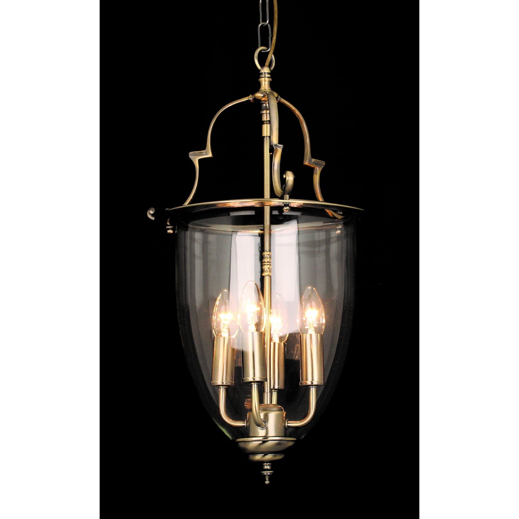 Norfolk Classic 4 Light Ceiling Lantern In Antique Brass Finish Lg201121 04 Ab Lighting From The Home Lighting Centre Uk