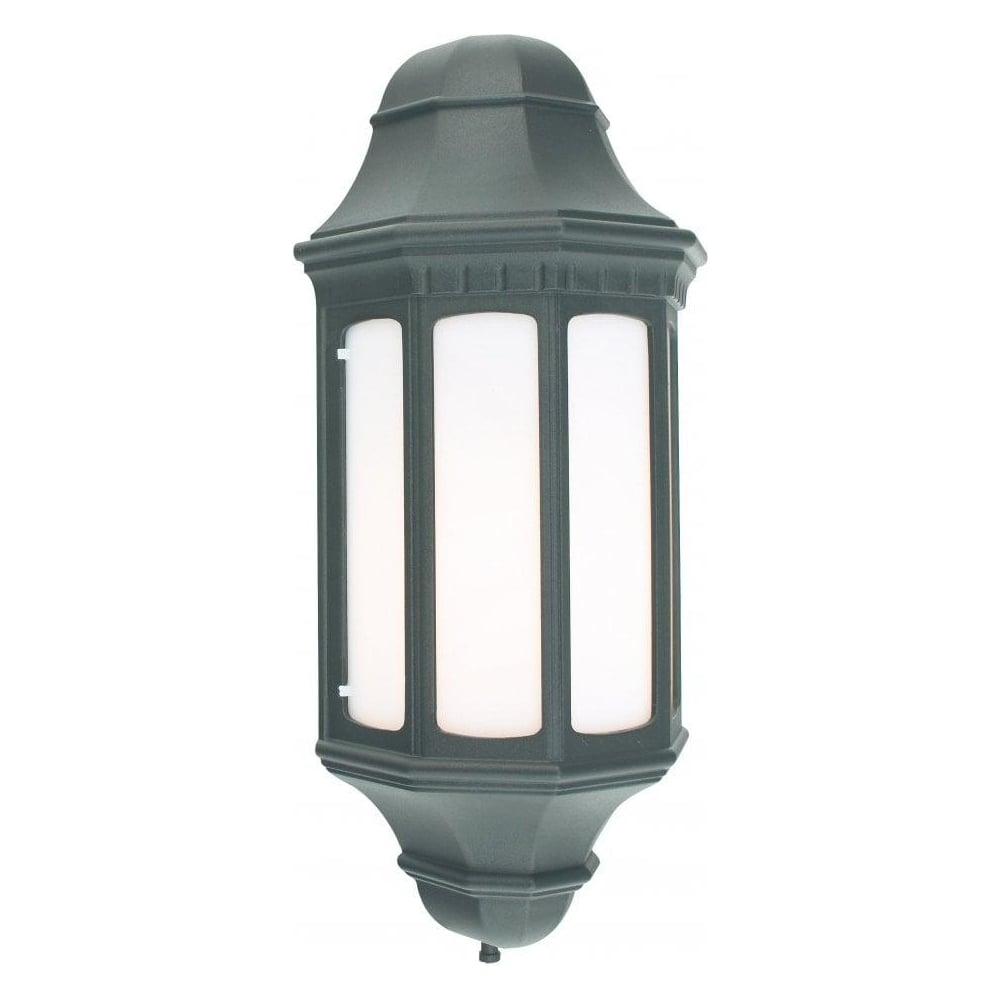 Flush External Wall Lights : Norlys Lighting M8 Malaga Flush Wall Lantern - Norlys Lighting from The Home Lighting Centre UK