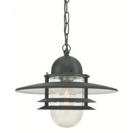 Oslo OS8 Chain Lantern with Opal Lens IP44