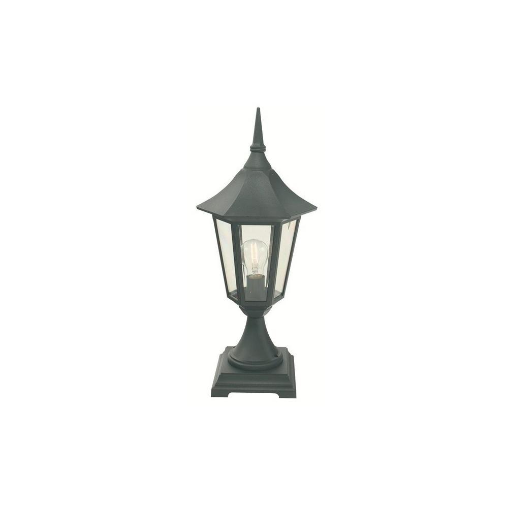 Norlys Lighting Valencia V3 Blk Gld Exterior Pedestal Lantern IP44 Lighting