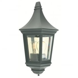 Valencia V9 Half Lantern with Clear Lens IP44