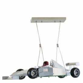 Novelty Formula One Car Ceiling Pendant Light F1