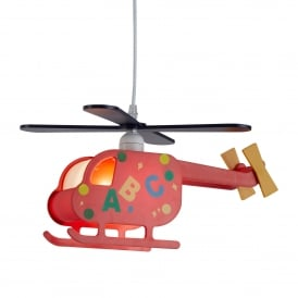 Novelty Helicopter ABC Design Children's Ceiling Pendant Light 0102