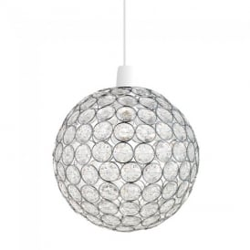 Oakley Acrylic Non Electric Ceiling Pendant Light NE-OAKLEY-CH