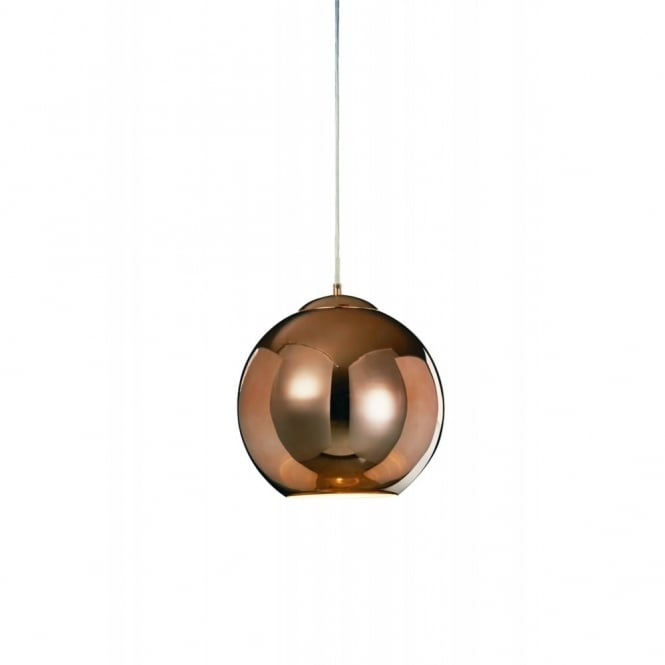 Illuminati Lighting Oberon Medium Ceiling Pendant Light In Copper Finish MD13090001-1D CPR