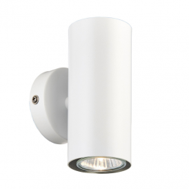 Odi Up and Down Wall Light In Matt White Finish 70565