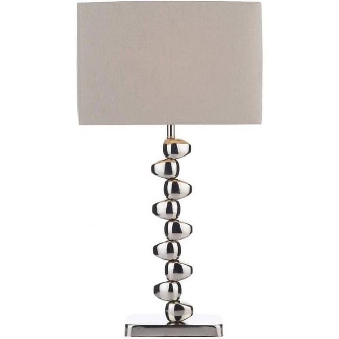 Dar lighting off4250 offset contemporary polished chrome for Off set floor lamp