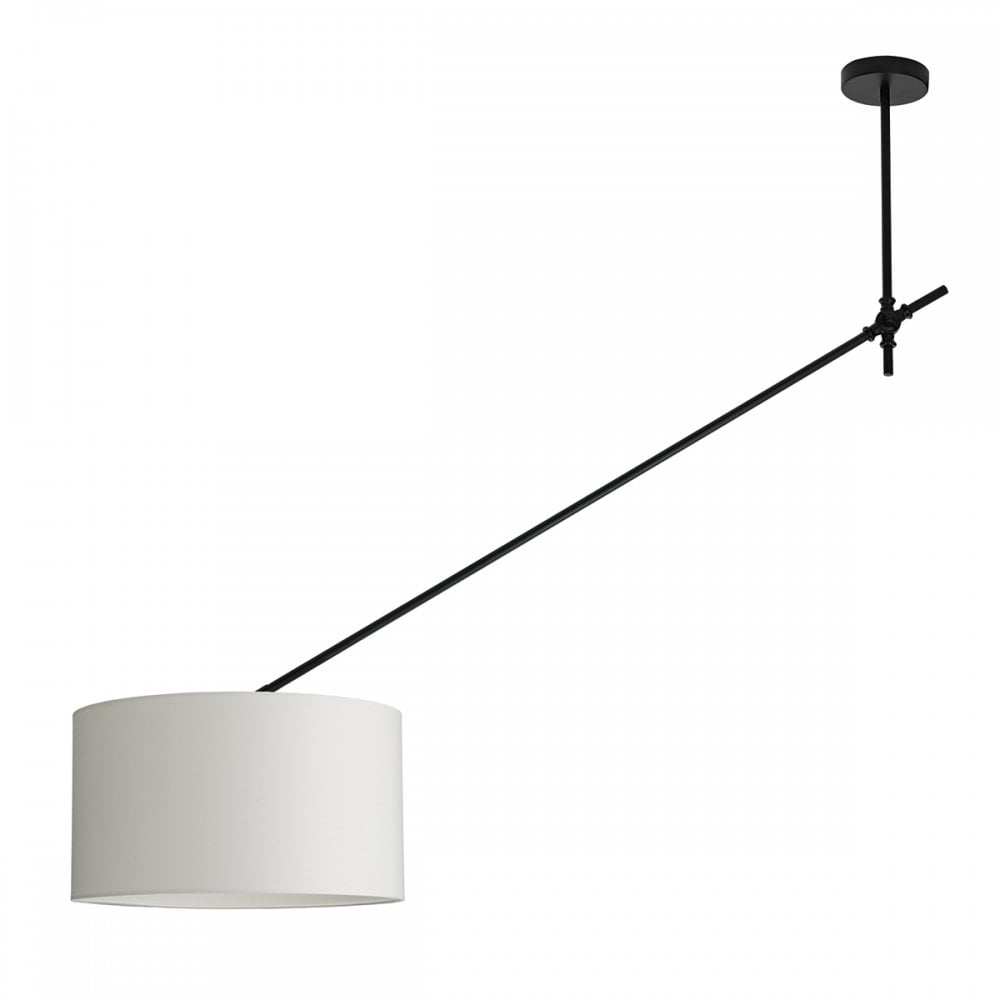 Oran adjustable modern ceiling pendant light in black finish ora8622