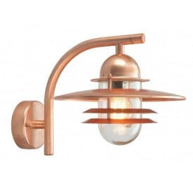 OS2 COPPER Oslo exterior wall lantern, IP54