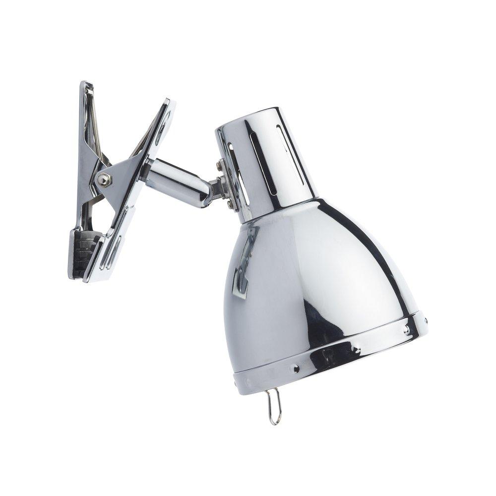 dar lighting osa4150 osaka 1 light modern clip on desk lamp in. Black Bedroom Furniture Sets. Home Design Ideas
