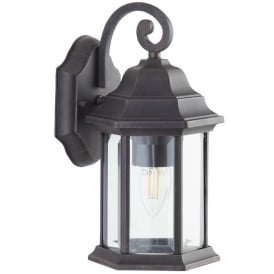 Outdoor Bronze Finish IP44 Exterior Wall Lantern Light