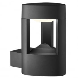 Outdoor LED Wall Light In Grey Finish With Acrylic Diffuser IP54 2005GY