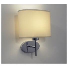 PAD0750 Padova Wall Light with Optional Cream Shade