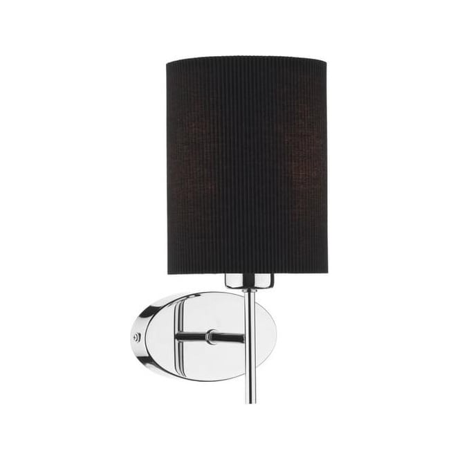 PAD0750/S1070 Padova Wall Lamp With Black Shade