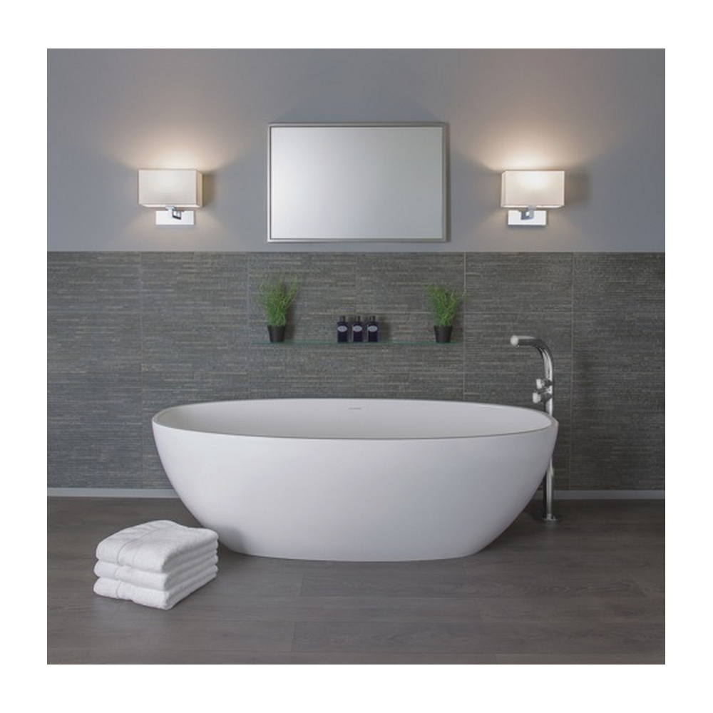Chrome Wall Light With White Shade : Astro Lighting Park Lane Grande Polished Chrome Wall Light with White Shade 0539 + 4001 ...