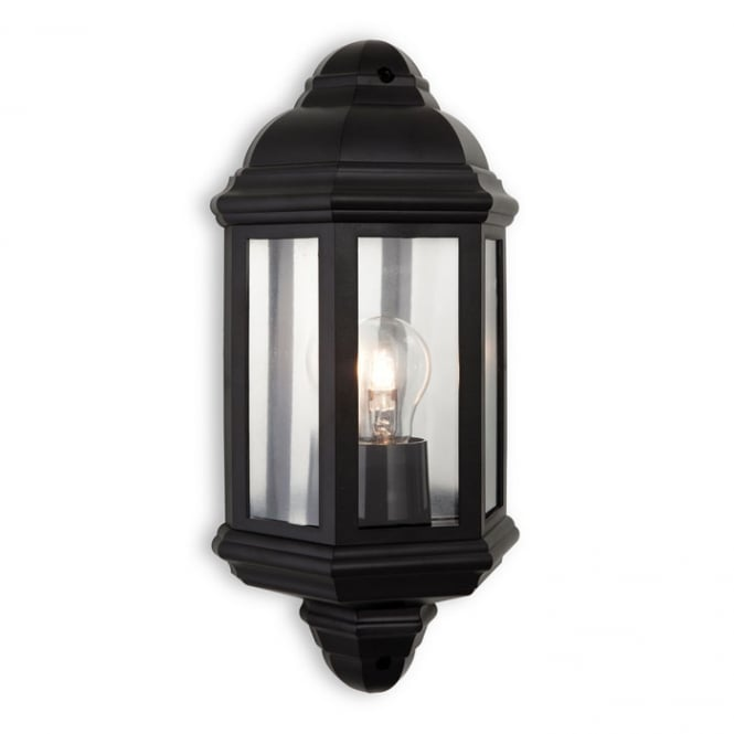 Firstlight Park Outdoor Wall Light In Black IP44 8655