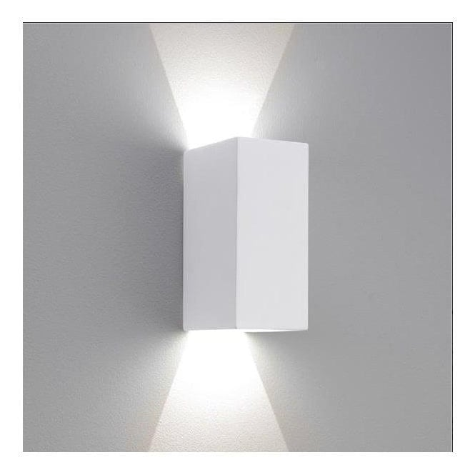 Astro Lighting Parma 210 LED Rectangular White Wall Bracket 7273