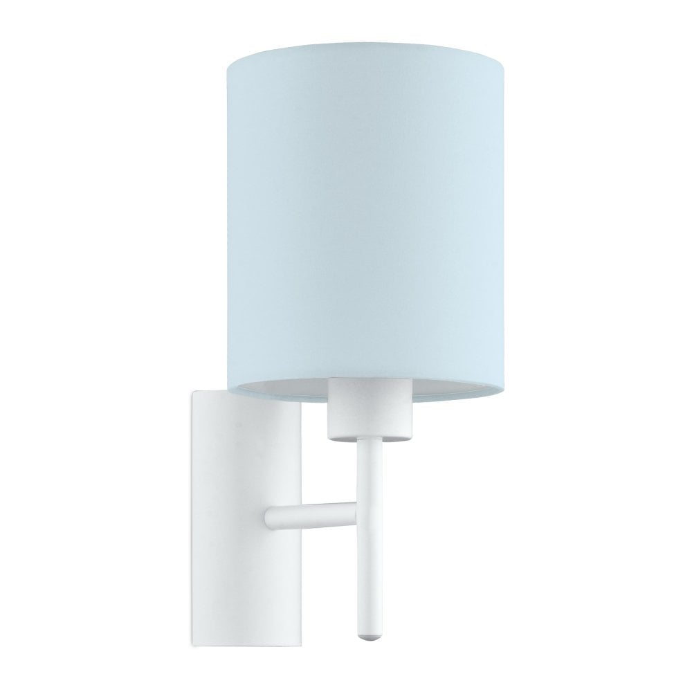 Pasteri-P Wall Light With Pastel Light Blue Shade 97388
