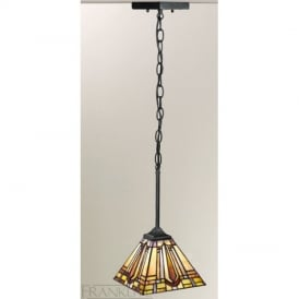 PCH97 and T131 Charleston Tiffany Pendant Ceiling Light