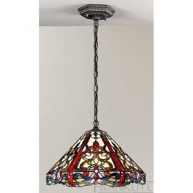 PCH99 and T126 Vaudeville Tiffany Pendant Ceiling Light