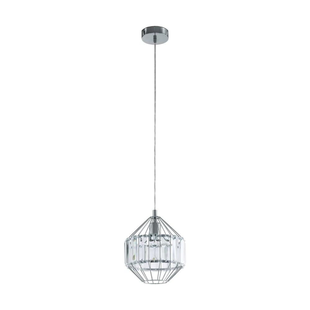 Eglo Lighting Pedrola Narrow Crystal Ceiling Pendant Light ...