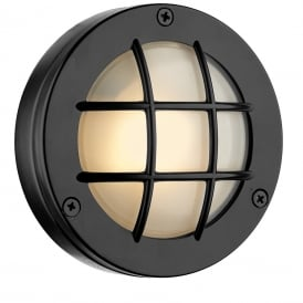 Pembroke Single LED Outdoor Wall Light In Oxidised Finish IP44 PEM5037