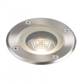 Pillar Exterior Ground Recessed Light in Polished Stainless Steel Finish IP65 GH98042V