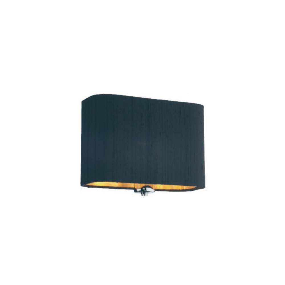 Dar Lighting Piza Wall Light Shade Black and Gold PIZ0750 + ZOF0722GD - Lighting from The Home ...