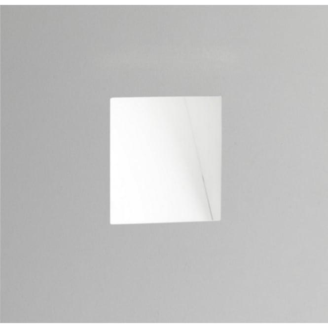 Astro Lighting Plastered In Led Marker Wall White Finish Borgo Trimless 7842