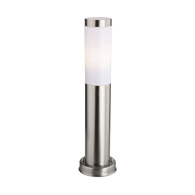 Firstlight Plaza Modern Stainless Steel Exterior Pedestal Lantern - 6406