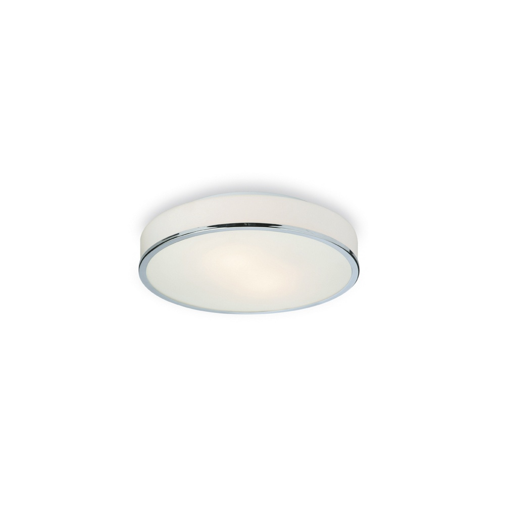 firstlight profile flush low energy bathroom ceiling light 60285ch lighting from the home. Black Bedroom Furniture Sets. Home Design Ideas