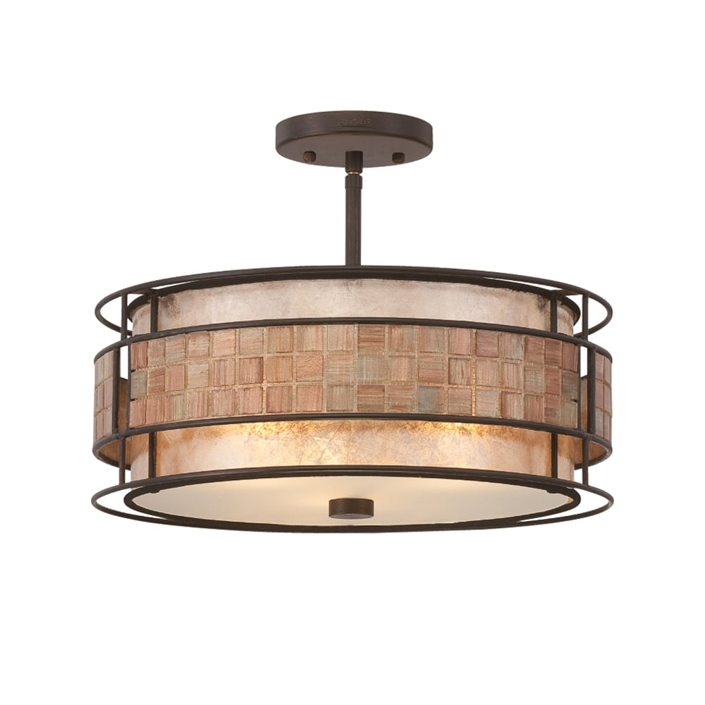 Quoizel laguna semi flush ceiling light in renaissance copper finish laguna semi flush ceiling light in renaissance copper finish qzlagunasf aloadofball Image collections
