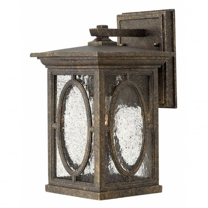 Hinkley Randolph Outdoor Small Wall Lantern In Autumn Finish HK/RANDOLPH2/S
