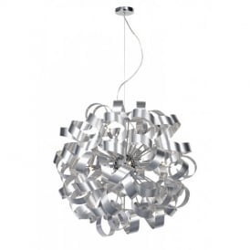 RAW1250 Rawley 12 Light Aluminium Ceiling Pendant