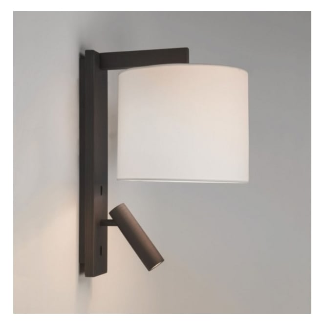 Astro Lighting Reading LED Wall Light Bracket In Bronze Finish RAVELLO LED 7459