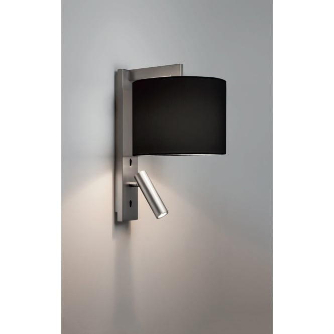 Astro Lighting Reading LED Wall Light Bracket In Matt Nickel Finish RAVELLO LED 7458