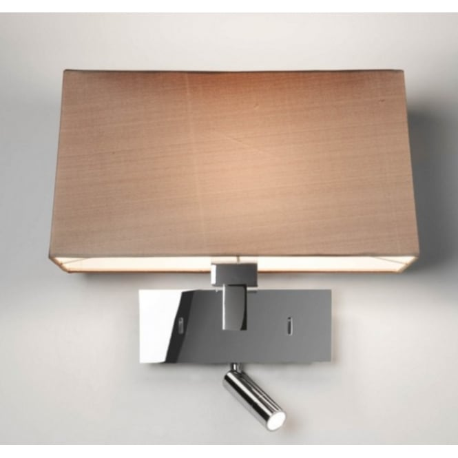 Astro Lighting Reading Wall Light Bracket In Polished Chrome Finish PARK LANE READER 7467
