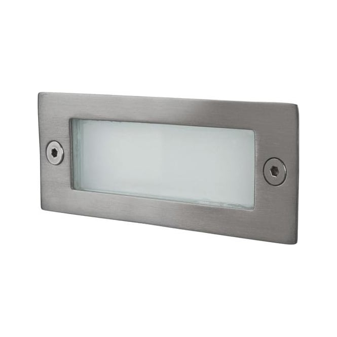 Firstlight Rectangle LED Wall Or Step Light, Rated IP44 - 8101