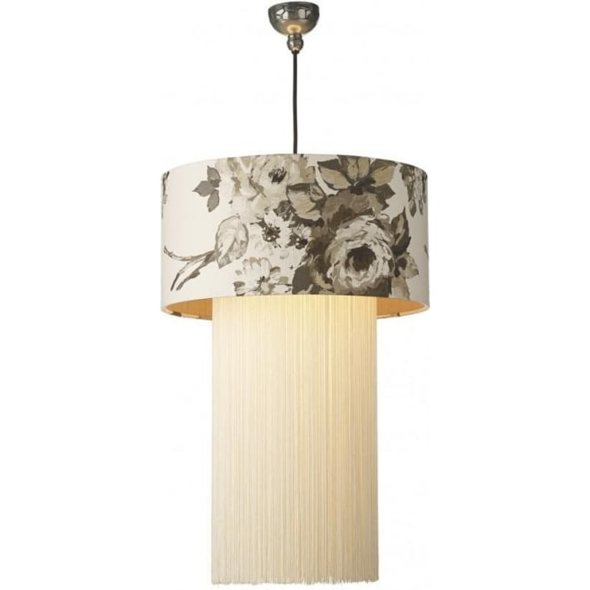 Rembrandt Suspension Natural Shade and Fringe REM2089/IF + GAR6567