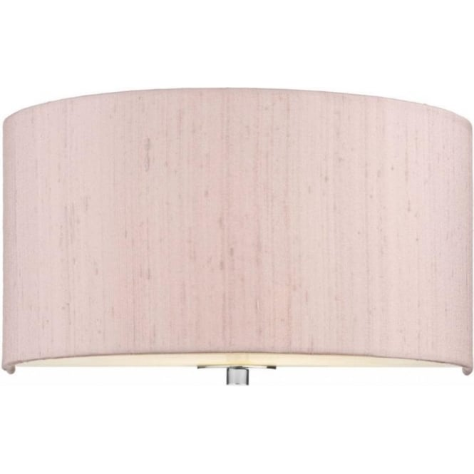 Dar Lighting Renoir 1 Lt Wall Light in Cotton Candy REN0778