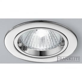RF276 Recessed Downlight With Chrome Finish
