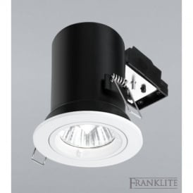 RF277 Recessed Downlight With White Finish